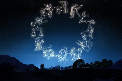 Astrologe, Astrologin, Astrologie, Gestirne